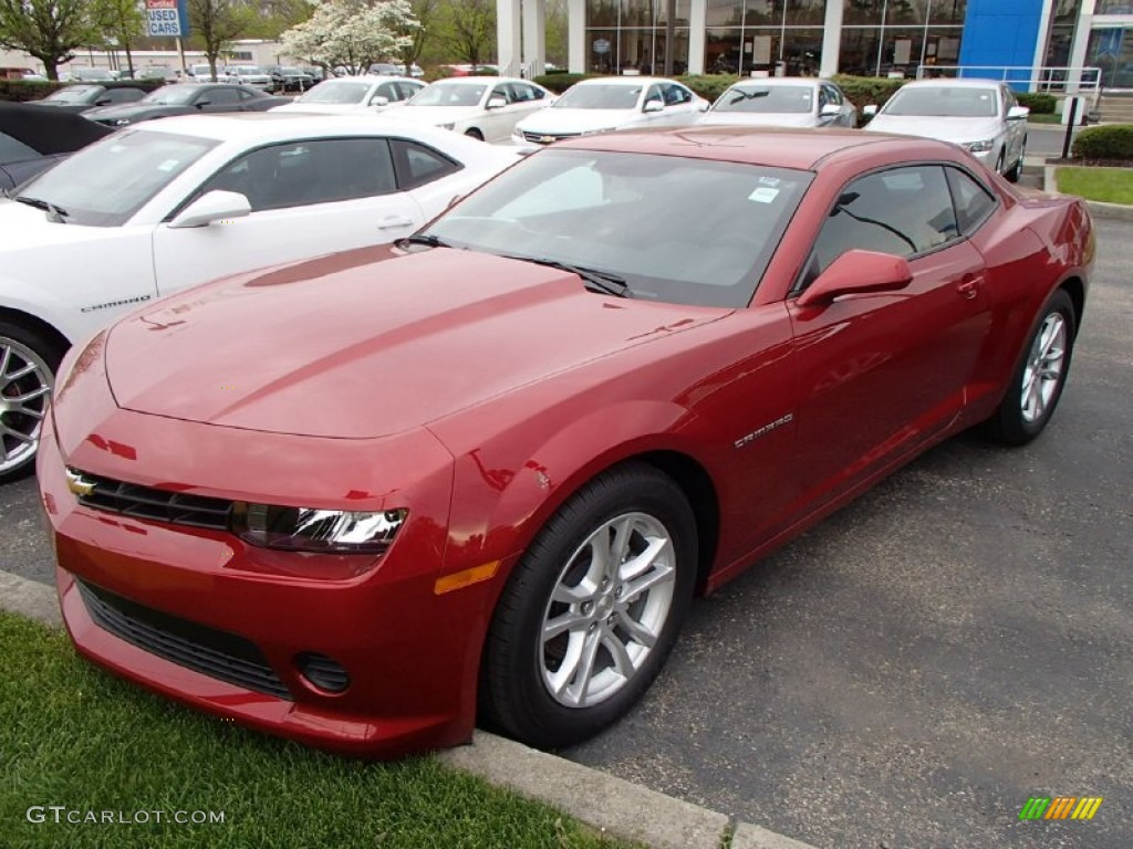 2014 red rock metallic chevrolet camaro ls coupe 93337152. Black Bedroom Furniture Sets. Home Design Ideas