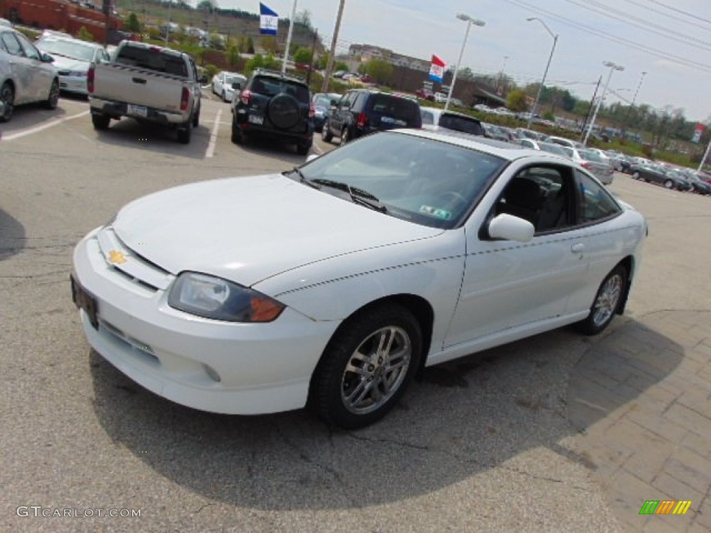 Olympic White 2003 Chevrolet Cavalier LS Sport Coupe Exterior Photo #93354974