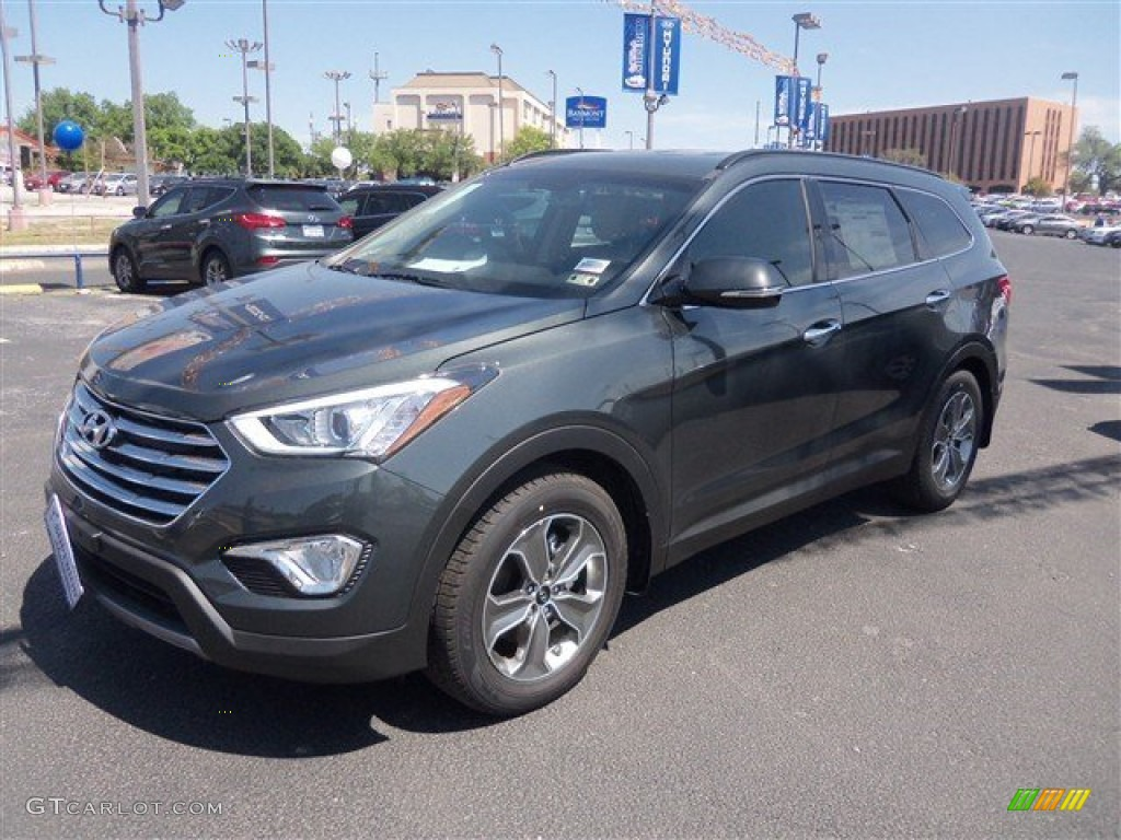 2014 hampton green pearl hyundai santa fe gls 93337290 car color galleries. Black Bedroom Furniture Sets. Home Design Ideas