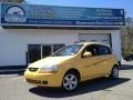 2005 Summer Yellow Chevrolet Aveo LS Hatchback #93383631