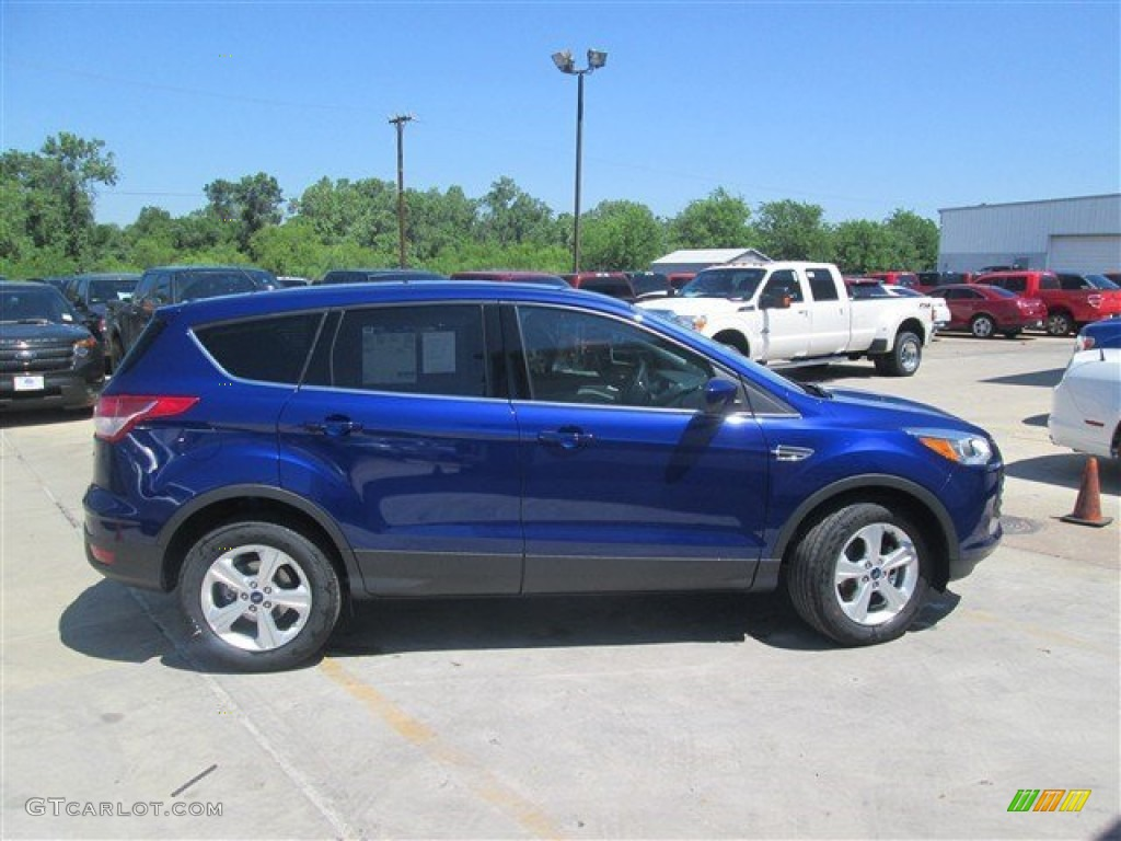 2014 Escape SE 1.6L EcoBoost - Deep Impact Blue / Medium Light Stone photo #1