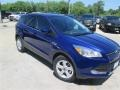 2014 Deep Impact Blue Ford Escape SE 1.6L EcoBoost  photo #2