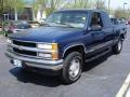 1999 Indigo Blue Metallic Chevrolet Silverado 1500 LS Extended Cab 4x4  photo #1