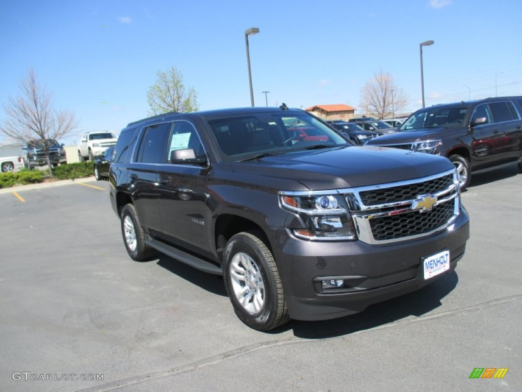 2015 tungsten metallic chevrolet tahoe lt 4wd 93482895 car color galleries. Black Bedroom Furniture Sets. Home Design Ideas