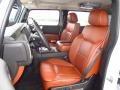2008 H2 SUV Sedona/Ebony Black Interior