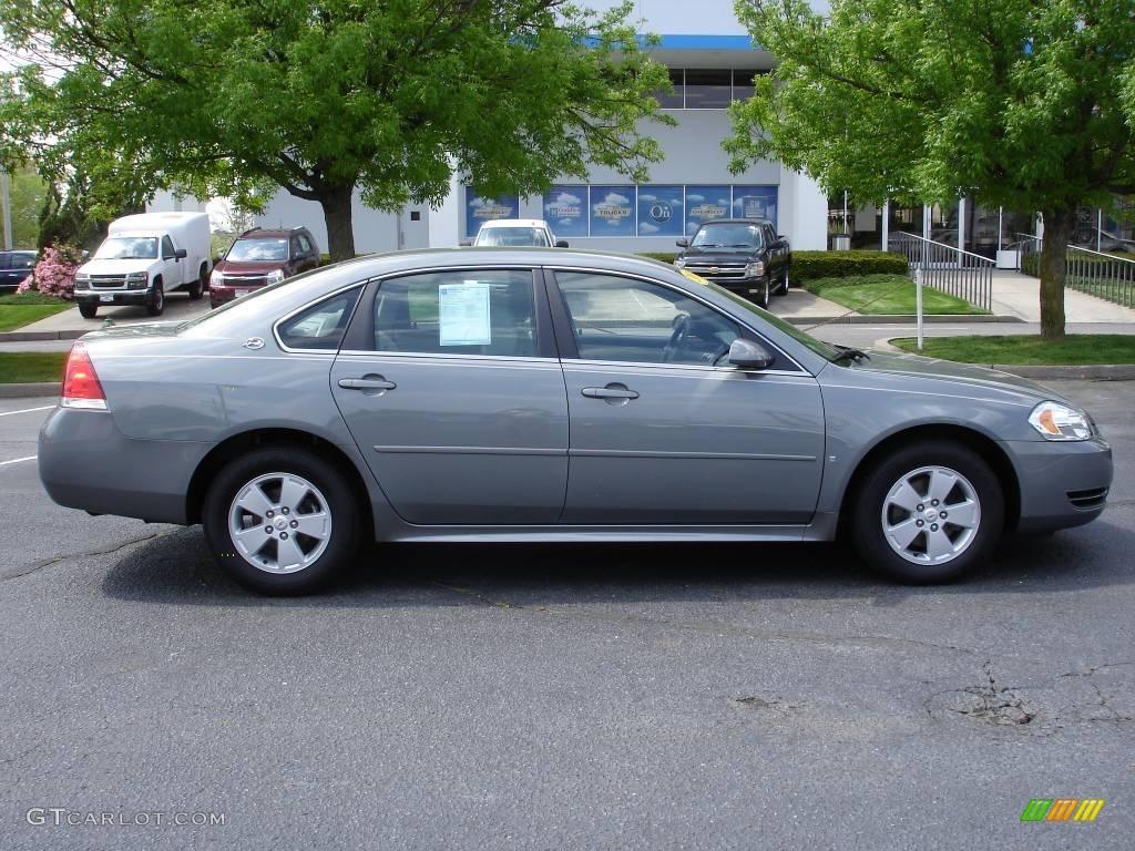 2009 Dark Silver Metallic Chevrolet Impala Lt 9320082