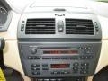 2004 BMW X3 Sand Beige Interior Controls Photo