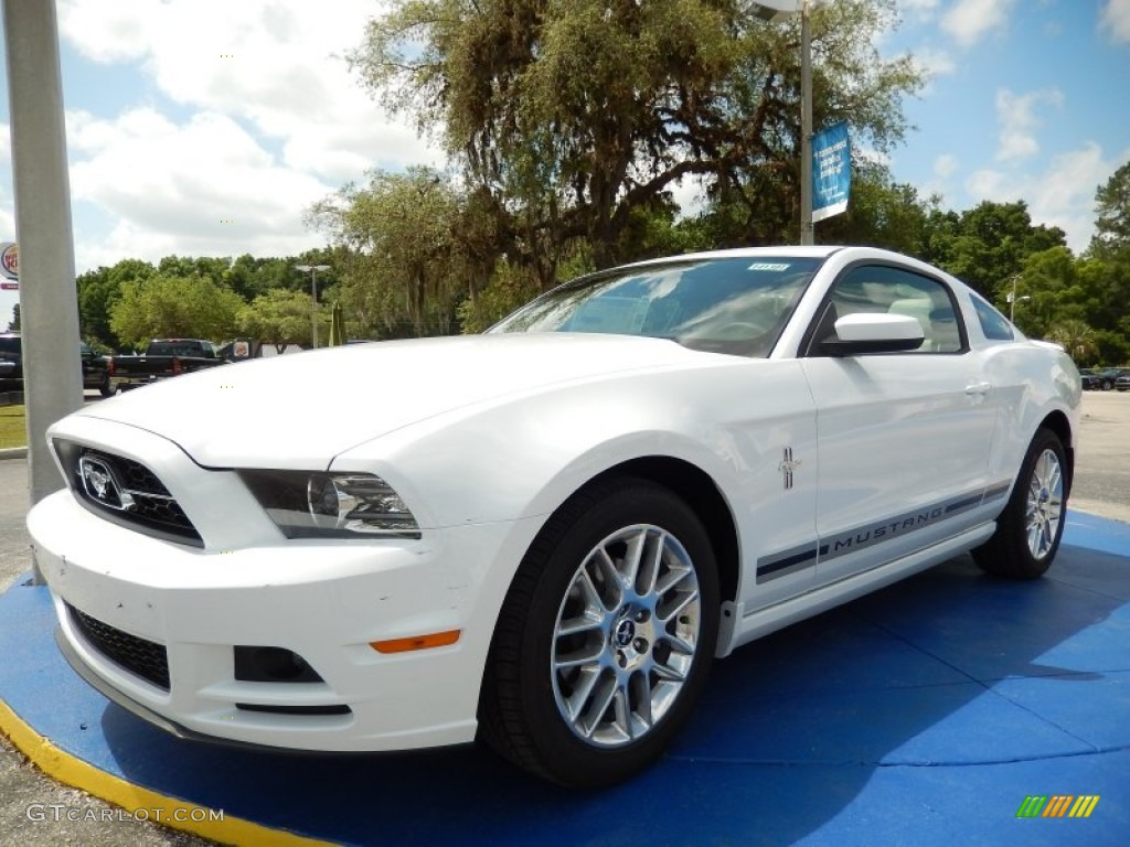 2014 Oxford White Ford Mustang V6 Premium Coupe 93482672 Gtcarlot