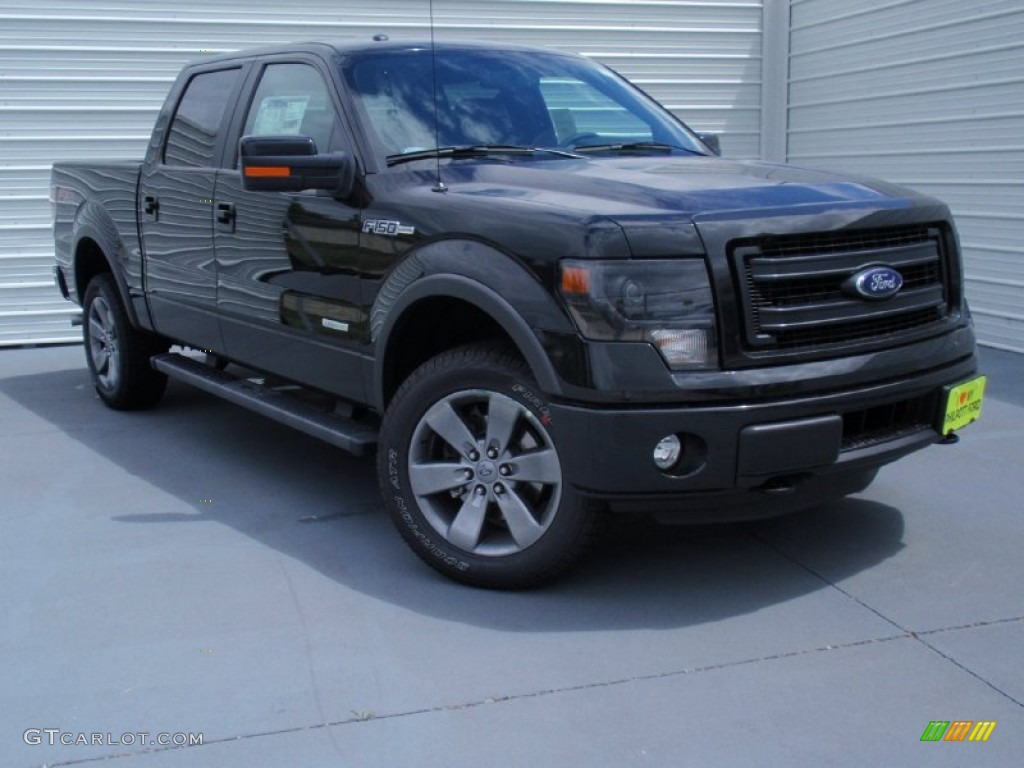 2014 tuxedo black ford f150 fx4 supercrew 4x4 93482773 car color galleries. Black Bedroom Furniture Sets. Home Design Ideas
