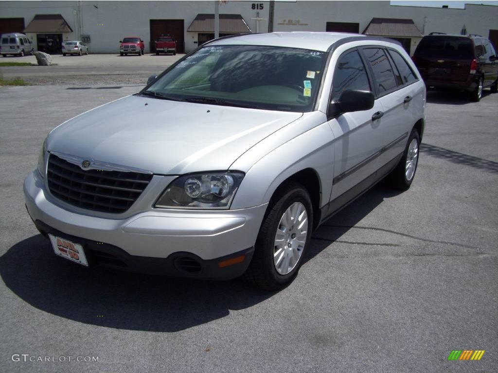 2006 bright silver metallic chrysler pacifica 9322717 car color galleries. Black Bedroom Furniture Sets. Home Design Ideas