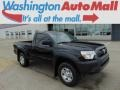 2012 Black Toyota Tacoma Regular Cab 4x4 #93523999
