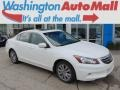 White Orchid Pearl 2012 Honda Accord EX-L V6 Sedan