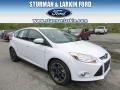 Oxford White 2014 Ford Focus SE Hatchback