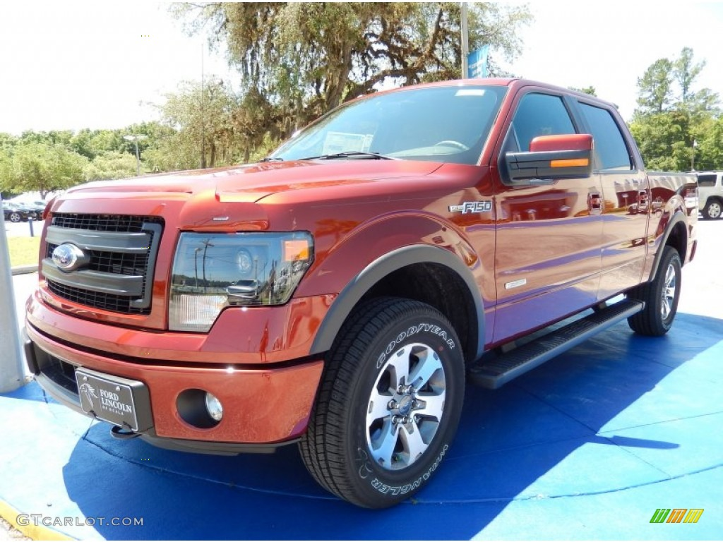 2014 sunset ford f150 fx4 supercrew 4x4 93565794 car color galleries. Black Bedroom Furniture Sets. Home Design Ideas