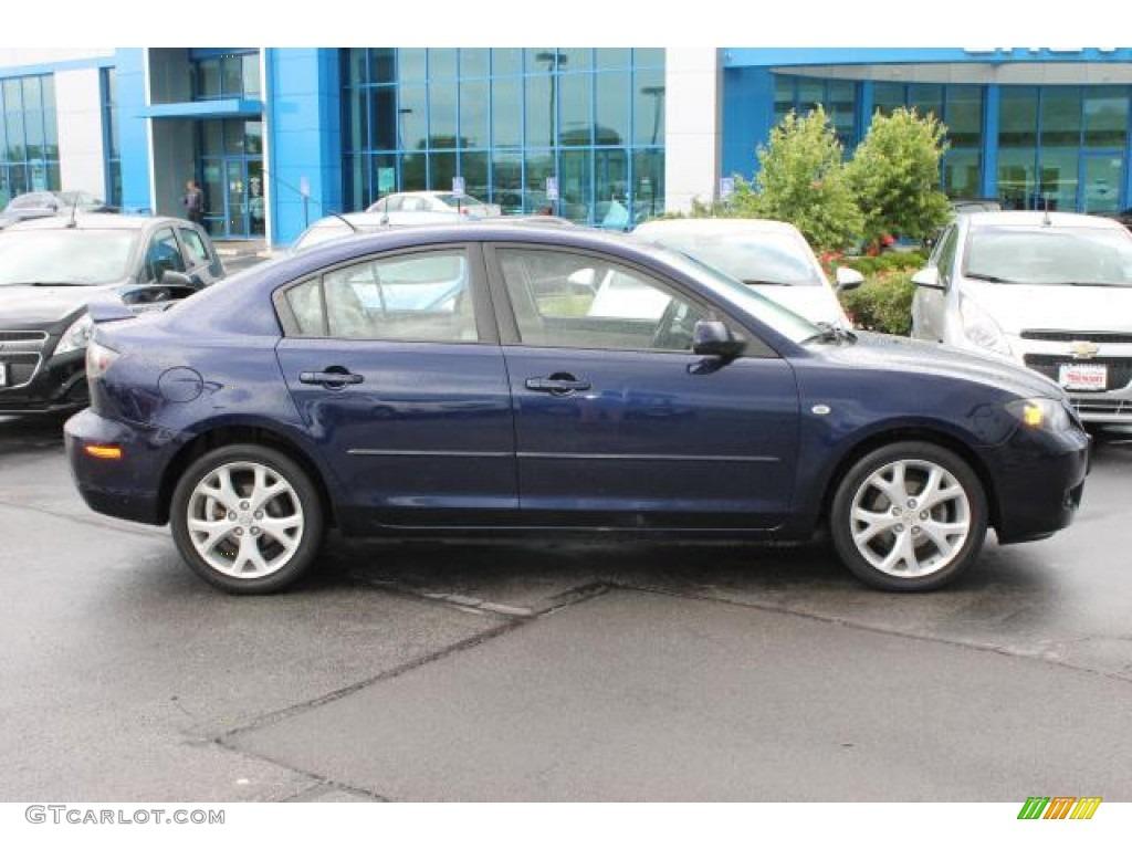 2008 stormy blue mica mazda mazda3 i sport sedan 93565713 car color galleries. Black Bedroom Furniture Sets. Home Design Ideas