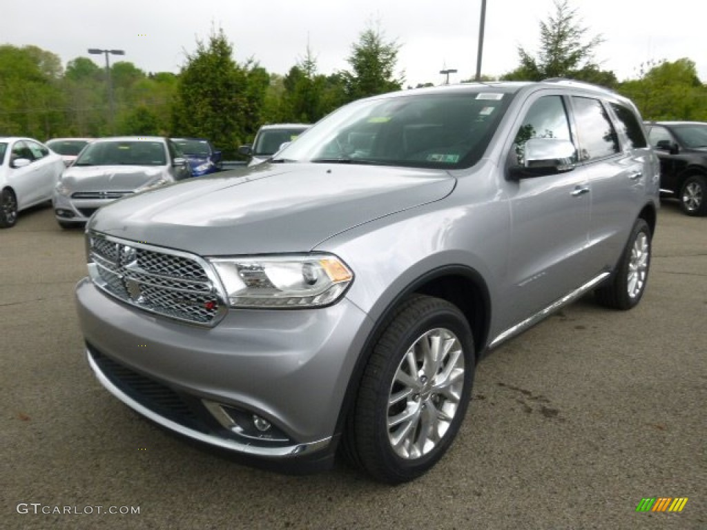 Silver Metallic 2014 Dodge Durango Citadel AWD Exterior Photo