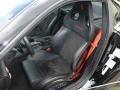 2010 Ferrari 599 GTB Fiorano Nero Interior Front Seat Photo