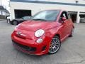 Rosso (Red) 2012 Fiat 500 Abarth