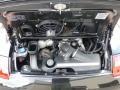 3.8 Liter DOHC 24V VarioCam Flat 6 Cylinder 2007 Porsche 911 Targa 4S Engine