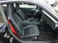 Black Front Seat Photo for 2007 Porsche 911 #93630468