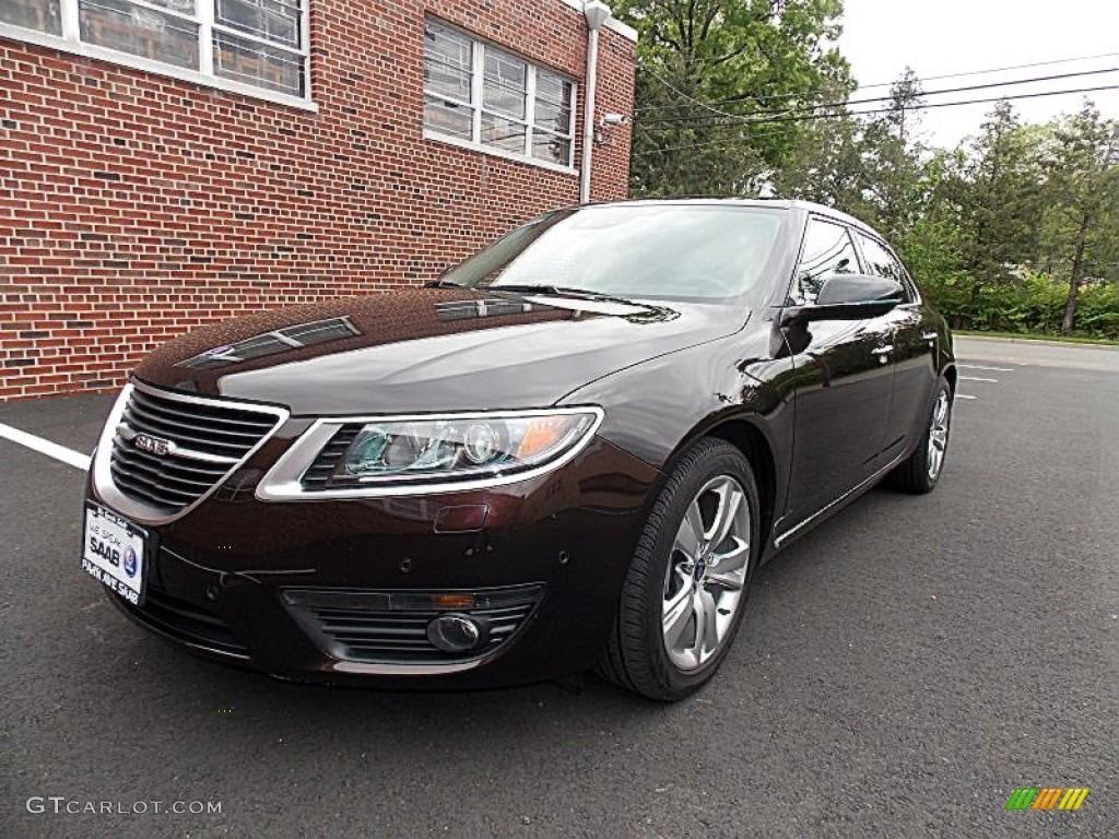 2011 java brown metallic saab 9 5 turbo4 premium sedan. Black Bedroom Furniture Sets. Home Design Ideas