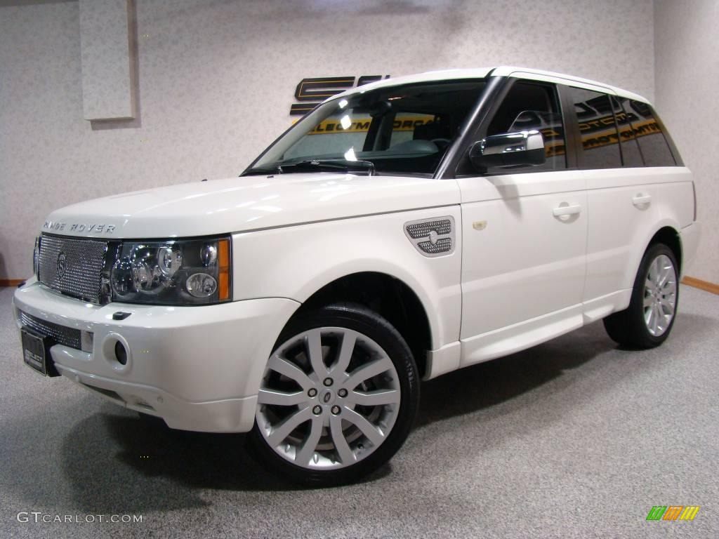 2006 chawton white land rover range rover sport supercharged 9327752 car color. Black Bedroom Furniture Sets. Home Design Ideas