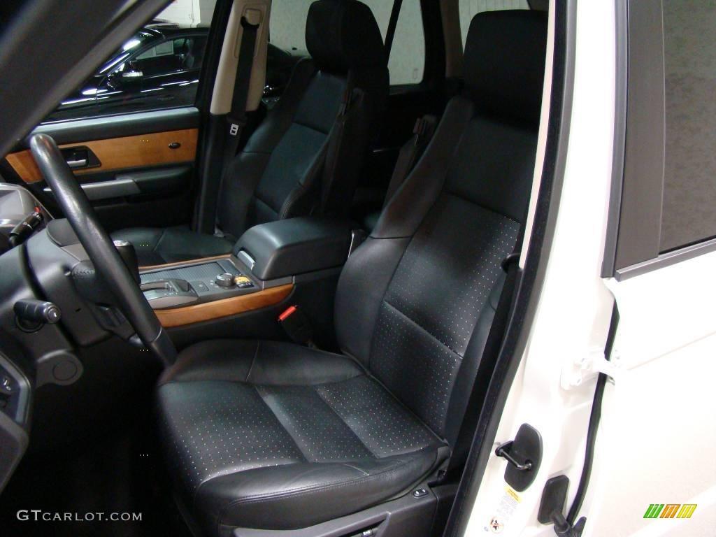 2006 Chawton White Land Rover Range Rover Sport Supercharged 9327752 Photo 8