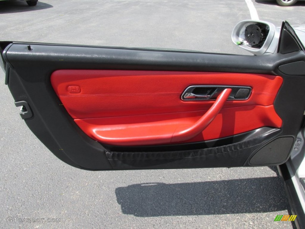 1999 mercedes benz slk 230 kompressor roadster door panel for Mercedes benz slk 230 kompressor 1999