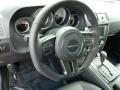 2014 Dodge Challenger Dark Slate Gray Interior Steering Wheel Photo