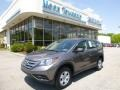 2012 Urban Titanium Metallic Honda CR-V LX 4WD  photo #1