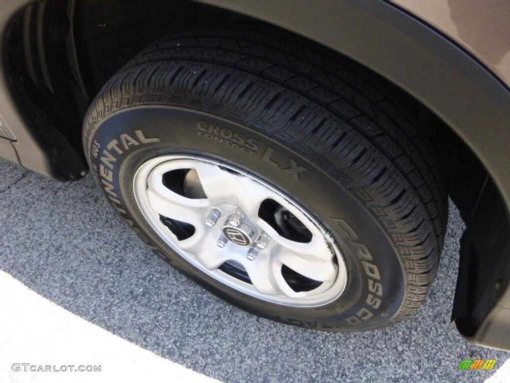 2012 CR-V LX 4WD - Urban Titanium Metallic / Black photo #9