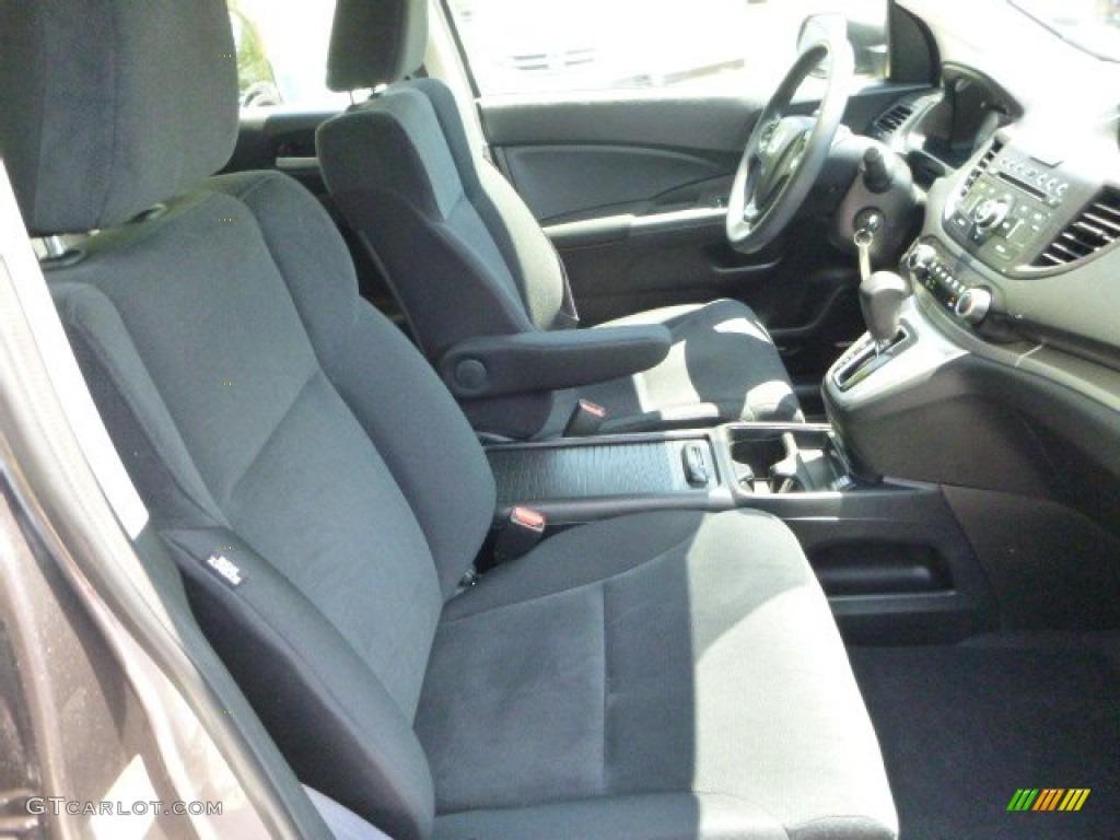 2012 CR-V LX 4WD - Urban Titanium Metallic / Black photo #10
