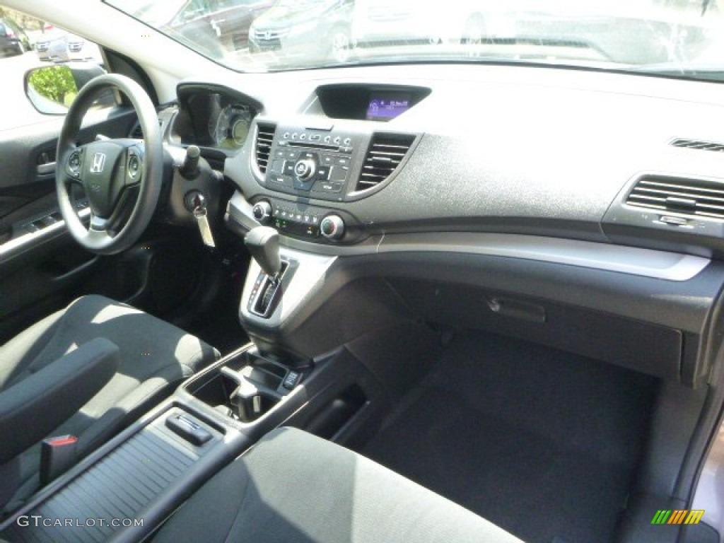 2012 CR-V LX 4WD - Urban Titanium Metallic / Black photo #11