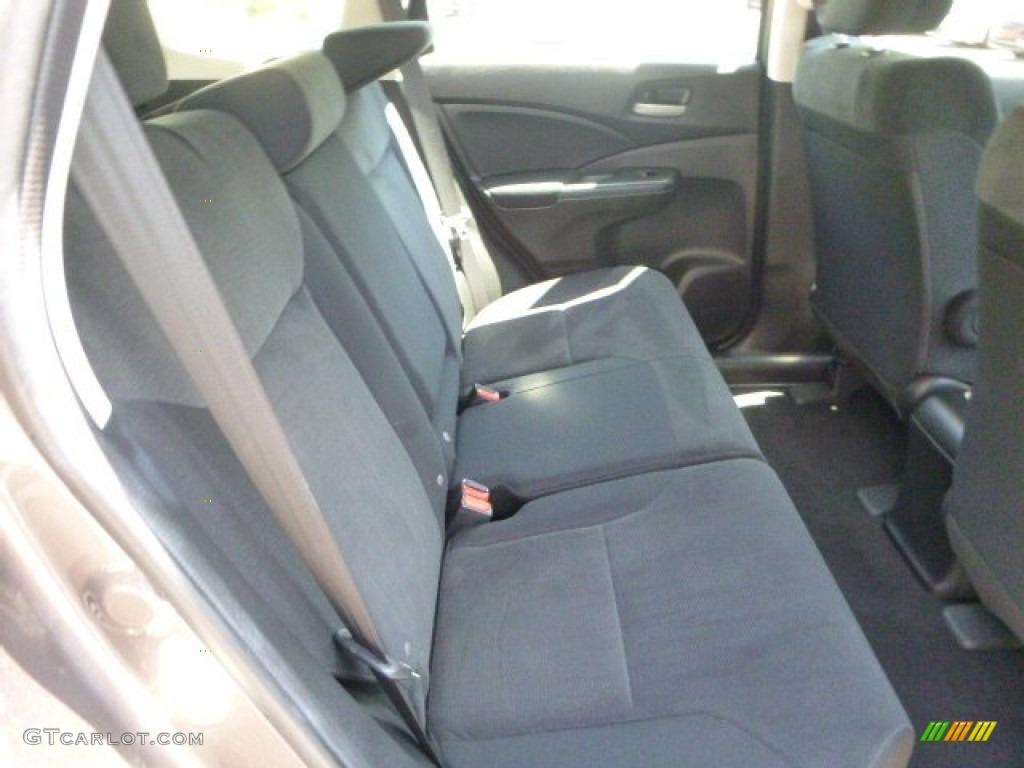 2012 CR-V LX 4WD - Urban Titanium Metallic / Black photo #13