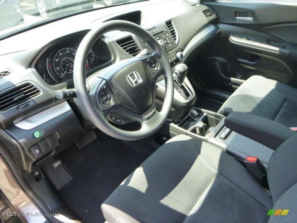 2012 CR-V LX 4WD - Urban Titanium Metallic / Black photo #20