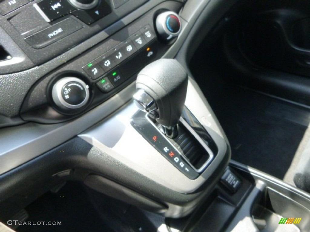 2012 CR-V LX 4WD - Urban Titanium Metallic / Black photo #21