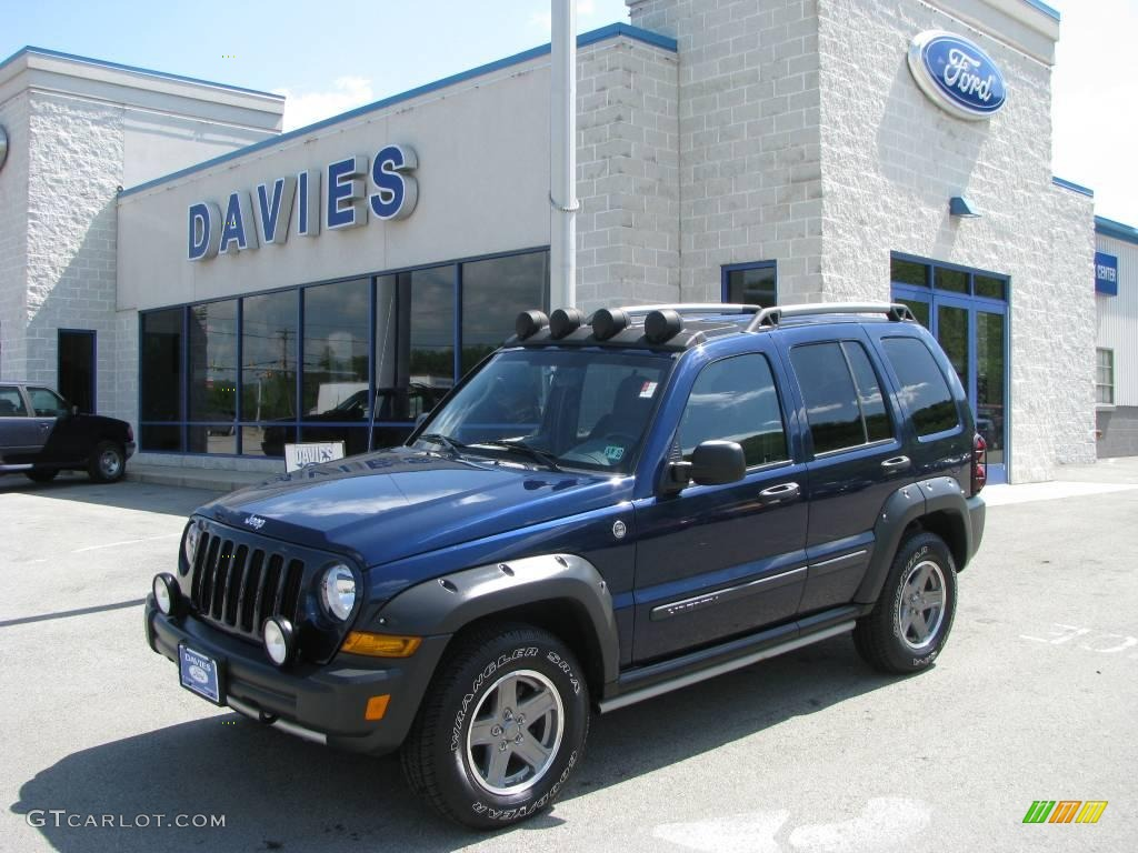 2005 patriot blue pearl jeep liberty renegade 4x4 9333569 car color galleries. Black Bedroom Furniture Sets. Home Design Ideas