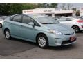 Sea Glass Pearl 2013 Toyota Prius Plug-in Hybrid
