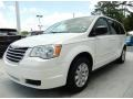 Stone White 2009 Chrysler Town & Country LX