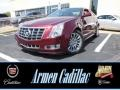 Crimson Red Metallic 2014 Cadillac CTS 4 Coupe AWD