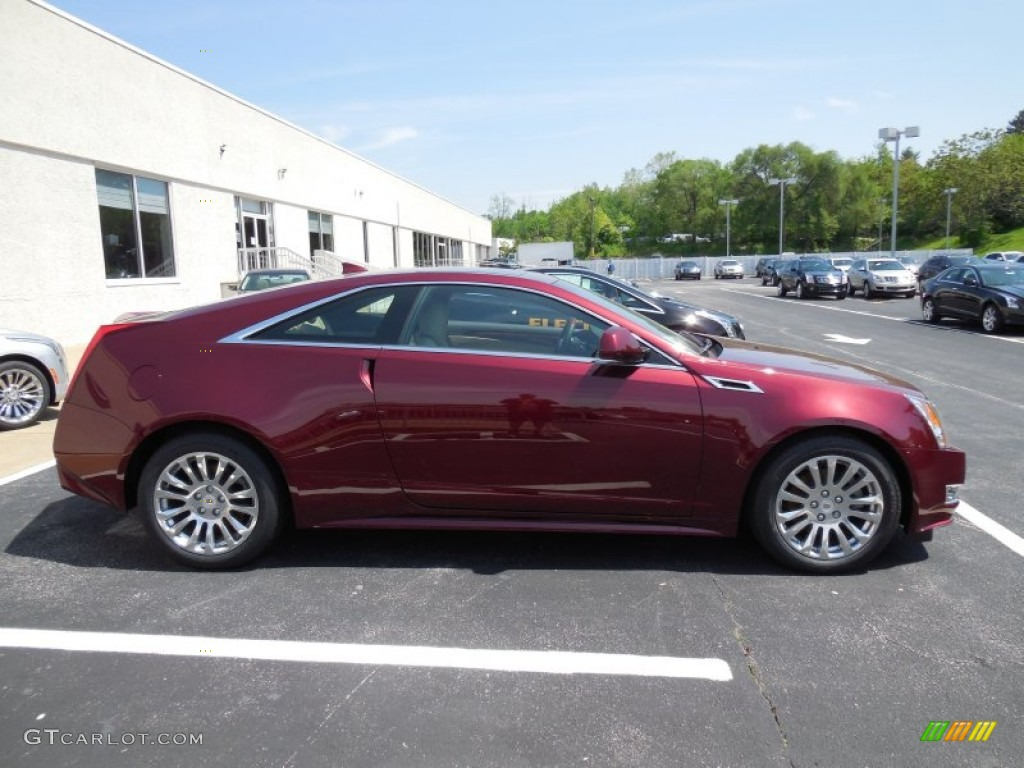 Crimson red metallic 2014 cadillac cts 4 coupe awd exterior photo 93679439 gtcarlot com