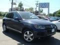 2012 Night Blue Metallic Volkswagen Touareg TDI Lux 4XMotion #93667269