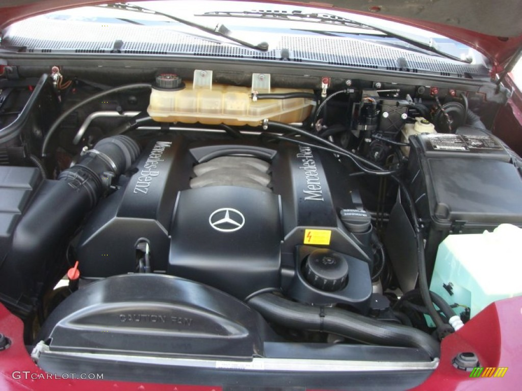 2002 mercedes benz ml 320 4matic engine photos for Engine for mercedes benz