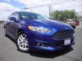 Deep Impact Blue Metallic 2013 Ford Fusion SE 1.6 EcoBoost