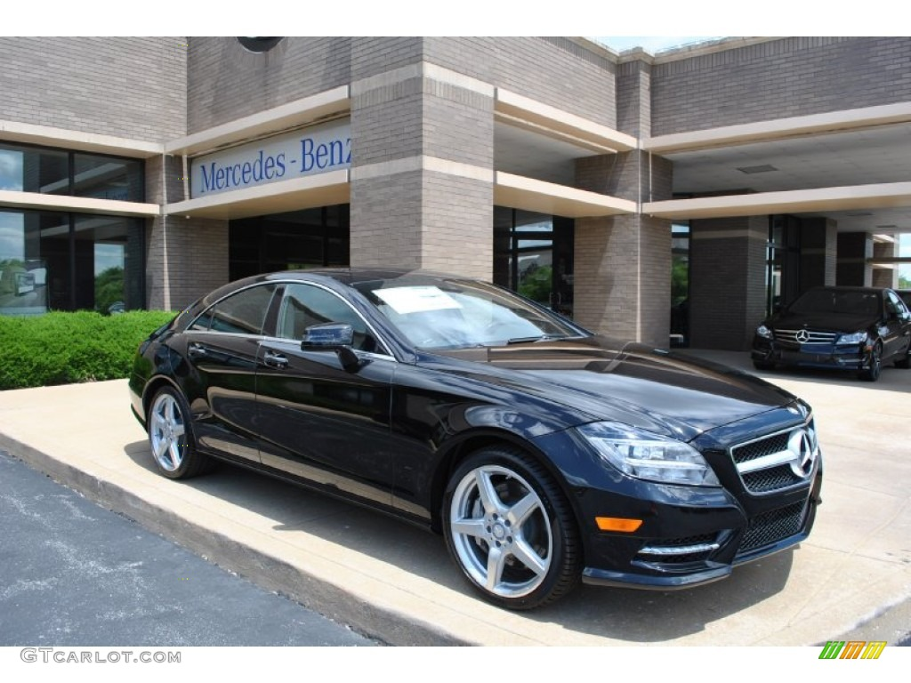 obsidian black metallic 2014 mercedes benz cls 550 4matic coupe exterior photo 93702083. Black Bedroom Furniture Sets. Home Design Ideas
