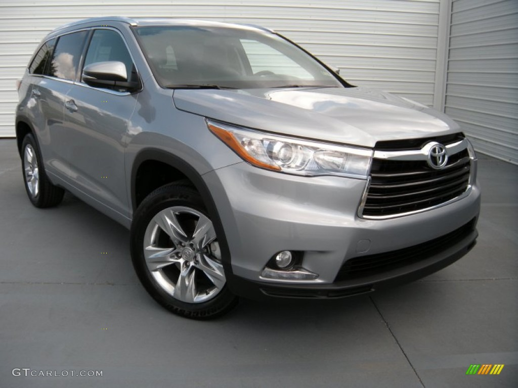 2014 Silver Sky Metallic Toyota Highlander Limited