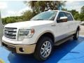 White Platinum 2014 Ford F150 King Ranch SuperCrew 4x4