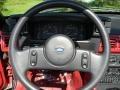 1987 Ford Mustang White Interior Steering Wheel Photo