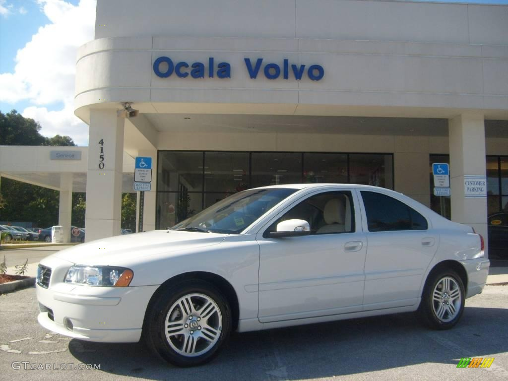 2008 ice white volvo s60 2 5t 933423 car. Black Bedroom Furniture Sets. Home Design Ideas