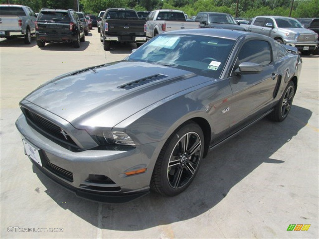 2014 sterling gray ford mustang gt cs california special. Black Bedroom Furniture Sets. Home Design Ideas